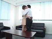Asian milf with huge boobs Oshikawa Yuuri enjoys real hardcore