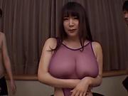 Hot milf, Yuzuki Marina is orgying