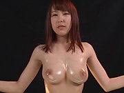 Super hot Asian girl Mori Harura gets her big tits fucked