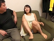 Stunning milf with big tits, intense Japanese hardcore