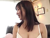 Busty Japanese minx is being naughty
