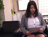 Office lady was hired for a hot cause