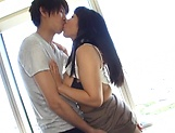 Japanese chick Nozomi Mikimoto gets tit fucked picture 15