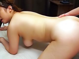 Busty Japanese angel gets a wild hardcore POV session