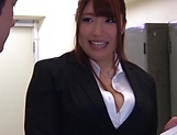 Hot luscious teacher Chitose Saegusa rides cock wildly picture 7