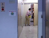 Hot luscious teacher Chitose Saegusa rides cock wildly picture 9