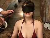 Appealing Hinagiku Tsubasa features in erotic bondage action