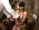 Appealing Hinagiku Tsubasa features in erotic bondage action