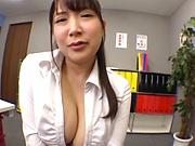 Yuzuki Marina performs a breathtaking tit fuck