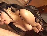 Mika Konishi has her huge boobs erotically manipuated picture 15