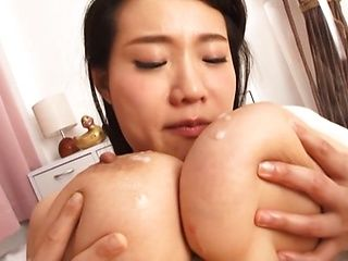 Hot Tokyo girl Shibuya Kaho gets tits fucked and pussy drilled