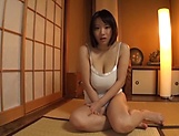 Kaho Shibuya loves getting freaky while she is alone