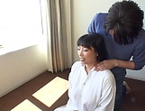 Amazing busty milf Nozomi Mikimoto in load moans picture 1