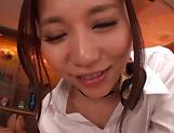 Sassy legal age babe Saijou Ruri enjoying her taco slammed