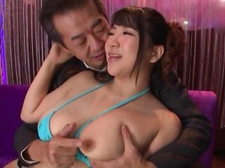 Yuzuki Marina is showing her big tits