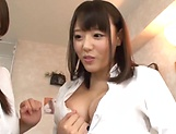 Busty Asian beauty get her wet muff filled with cum picture 14