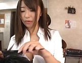 Busty Asian beauty get her wet muff filled with cum