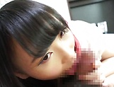 Akane Yoshinaga pleasures a pulsating ramrod