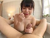 Natsu Kimino,shows her cock servicing skills picture 13