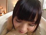 Natsu Kimino,shows her cock servicing skills