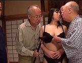 Nonami Shizuka pleasures multiple schlongs picture 10