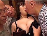 Nonami Shizuka pleasures multiple schlongs picture 12