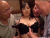 Nonami Shizuka pleasures multiple schlongs picture 8
