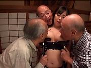 Nonami Shizuka shows her dick pleasuring skills