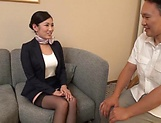 Superb Asian babe Rei Narita gets nailed properly