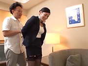 Rei Narita gets her vagina screwed in wild ways