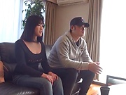 Kawaguchi Hasumi wants her cunt pleased