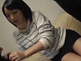 kinky Kaho Shibuya gets her shaved muff drilled hard picture 5