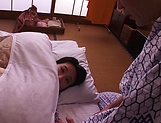 Cute Japanese babe Shibuya Kaho jerks off a cock and gets poked