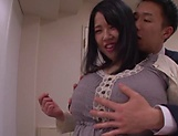Busty milf, Yuuki Iori got very excited picture 9