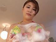 Ooshikawa Yuuri enjoys a sensual pov tease session