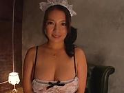 Mako Oda,gets a worthy creamed pussy