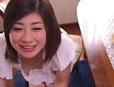 Misato Shiori got a creampie after sex