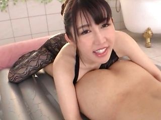 Inside Anal Licking - Busty Jap Ass Licking and Japanese Rimjob Porn Videos