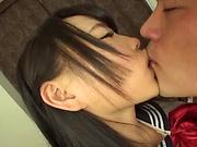 Akane Yoshinaga has her gaping hole penetrated