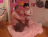 Mikoto Narumiya, loves choking on a dick