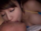 Kirishima Sakura gives a good head for jizz