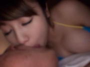 Kirishima Sakura wants that creamy load urgently