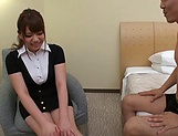 Mika Konishi, enjoys gagging on a tiff chlong picture 13
