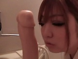 Raunchy pov toy session involving sexy Kisaki Mikoto