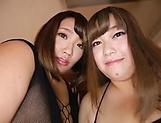 Kinky guy is having an intense threesome