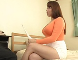 Ravishing Mishima Natsuko gets her wet muff fingered madly
