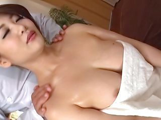 Ooshikawa Yuuri enjoys getting fucked while in a towel