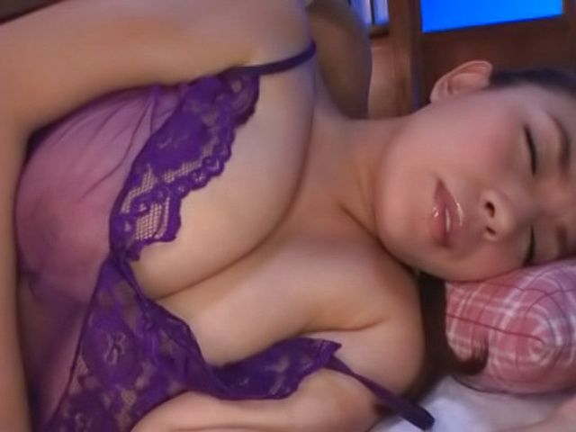Spicy milf Oda Mako has her shaved pussy pleasured