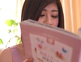 Misato Shiori plays with her pussy in gorgeous solo XXX