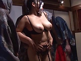 Nozomi Mikimoto gets her twat nailed well